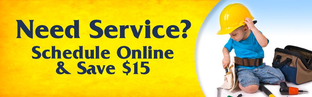 schedule hvac service online and save $15