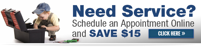 Schedule Service Online & Save