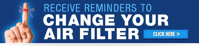 Air Filter Reminders