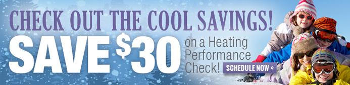 heating performance check