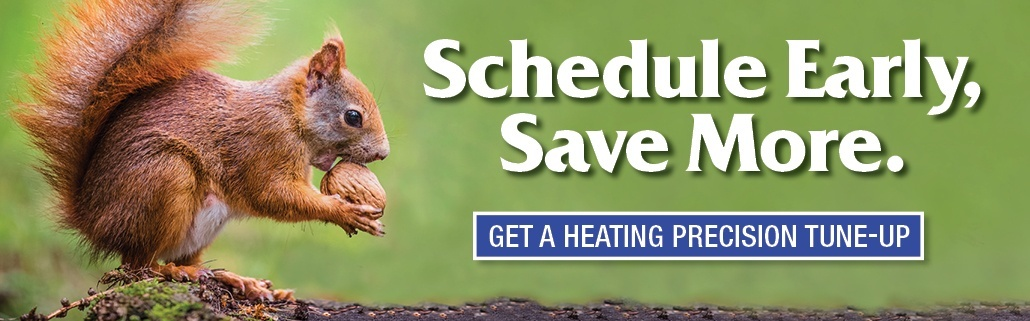Schedule your heating precision tune-up before the snow falls in Cleveland