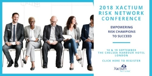 2018 Xactium Risk Network Conference Registration
