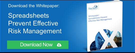 Spreadsheets Prevent Effective Risk Management