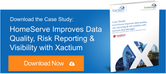 HomeServe Improves Data Quality, Risk Reporting & Visibility with Xactium Risk Manager