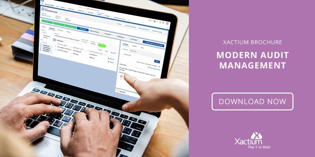 Xactium Modern Audit Management Brochure