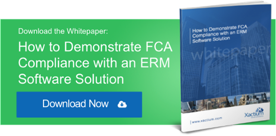 FCA compliance with an ERM software solution
