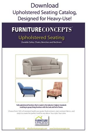 Download Upholstered Seating Catalog. Beautiful BUT Durable.