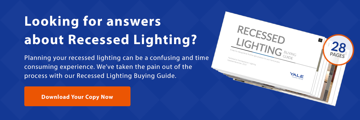 View our recessed lighting buying guide