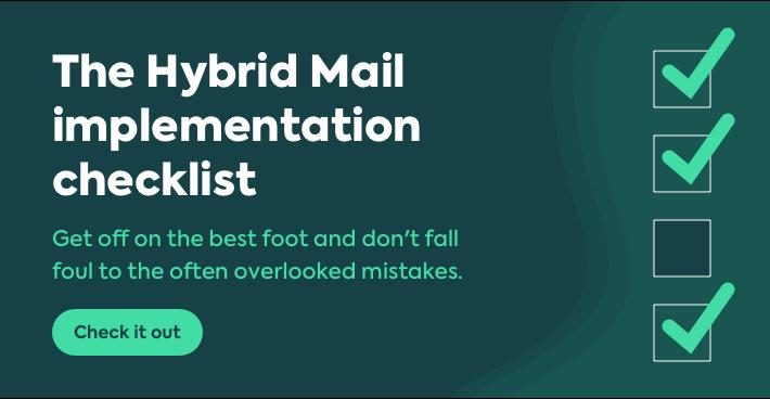 hybrid mail checklist cta