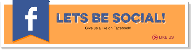 Let's be social! Give us a like on Facebook!
