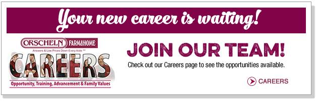 Your new career is waiting! Join our team!