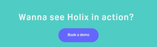 Holix Demo CTA