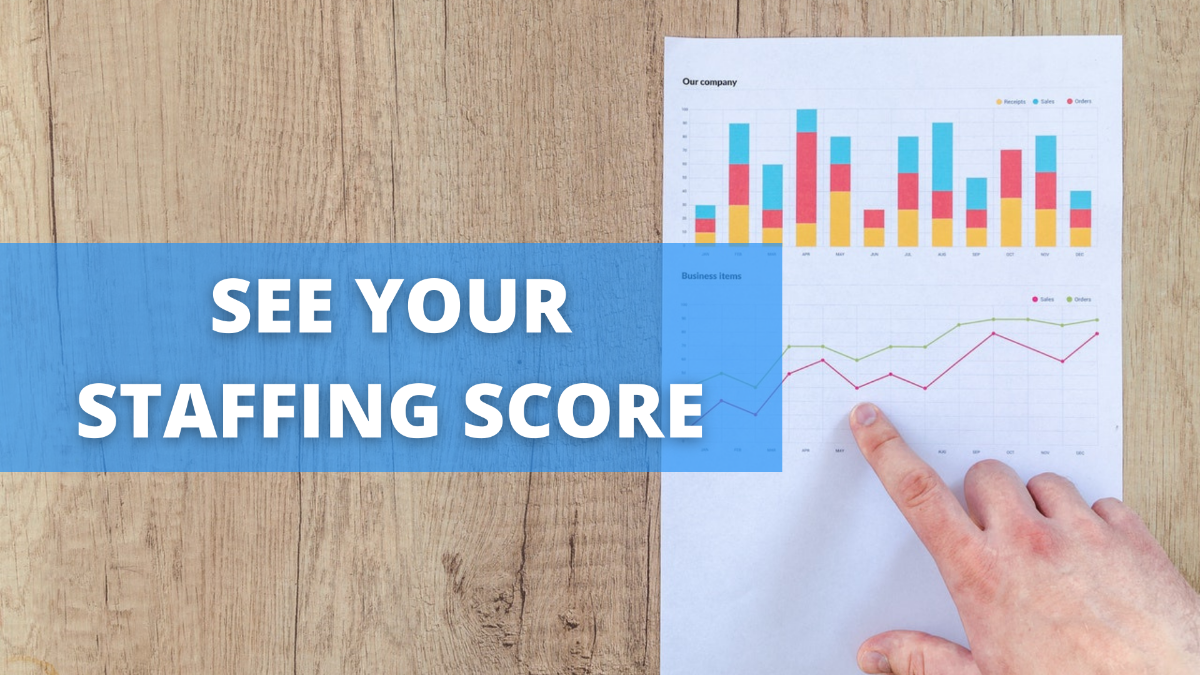 Bridge Personnel Recruitng strategy report card - see how your hiring funnel compares