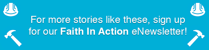Sign up for Habitat's Faith In Action enewsletter