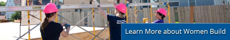 Volunteer with Women Build
