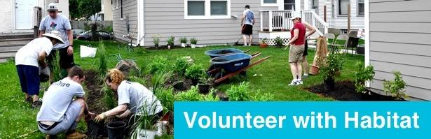 Volunteer with Habitat