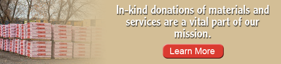Learn more about In-Kind Donations