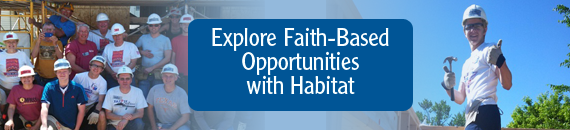 Explore Faith-Based Opportunities