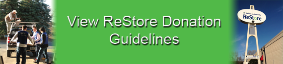 View ReStore Donation Guidelines