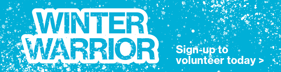 Winter Warrior: Sign-up to volunteer today >