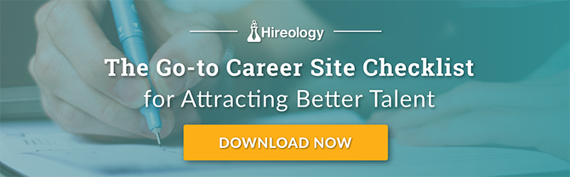 Hireology Career Site Checklist Hiring