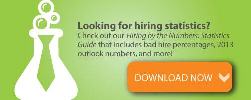hiring statistics, hireology, hr statistics, bad hires statistics