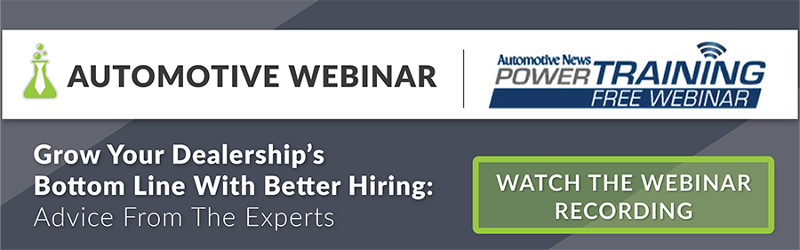 Webinar Automotive News Hireology