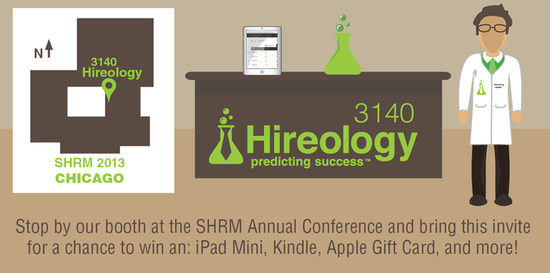 SHRM invitation Hireology