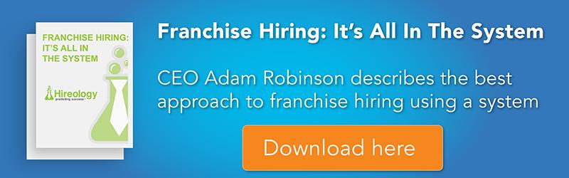 franchise hiring hireology