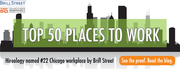 hireology, top chicago workplace, brill street, top places for millennials to work