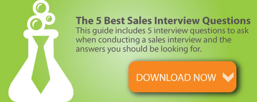 sales interview questions guide