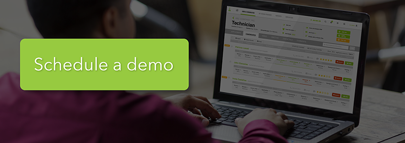 Schedule a demo with Hireology