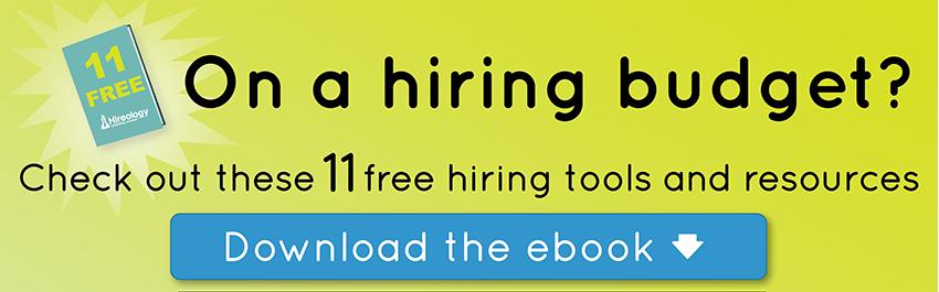 free hiring tools, free hiring resources, hiring tools