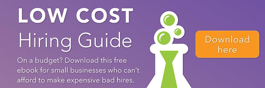 low cost hiring, hiring help, hiring guide