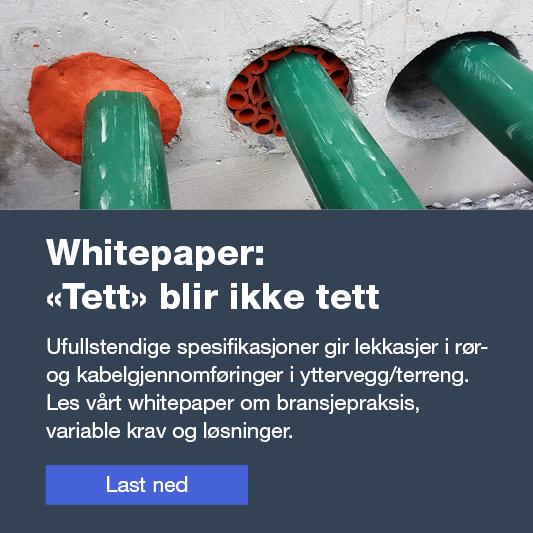 """Whitepaper: """"Tett"""" blir ikke tett"""