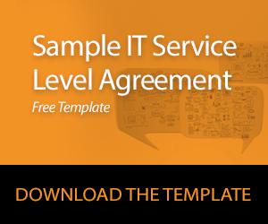 Sample IT Service Level Agreement Download