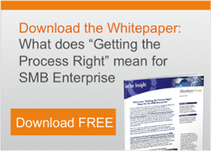 Getting the Process Right for SMB Enterprise