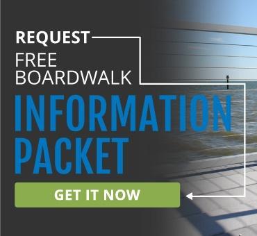 PermaTrak Concrete Boardwalk Literature Brochure