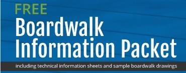 PermaTrak Concrete Boardwalk Literature Brochure