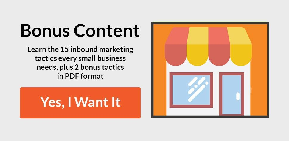 Download Our Free PDF Inbound Marketing Tactics PDF