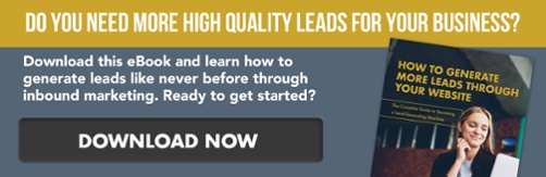 CTA - How to Generate More Leads Through Your Website