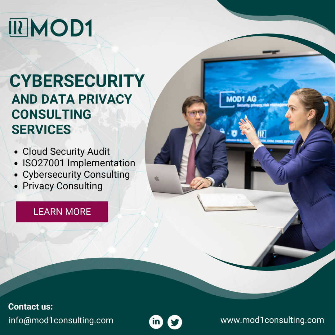 MOD1 Security, privacy, risk and compliance consultants.