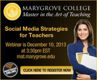 Social Media Strategies for Teachers Webinar