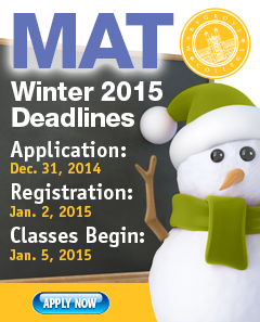 MAT Fall 2014 deadlines