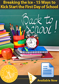 15 Ways to Kick Start the First Day of School