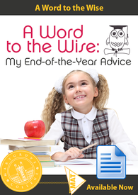 End of the Year Advice Book