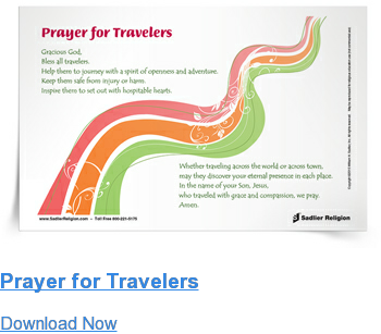 Prayer for Travelers Download Now