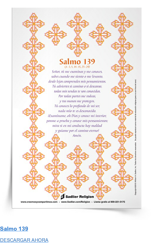 Salmo 139 DESCARGAR AHORA