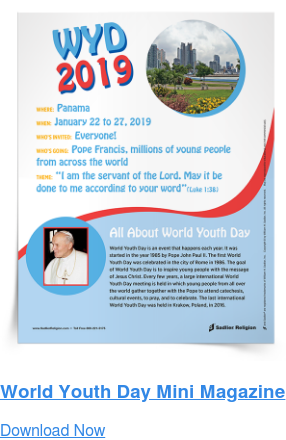 World Youth Day Mini Magazine Download Now