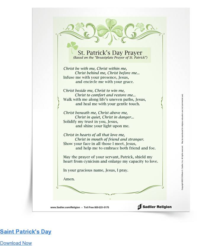 Saint Patrick's Day Download Now